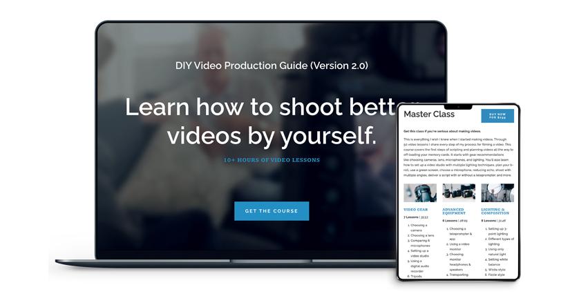 Caleb Wojcik - DIY Video Production Guide 2.0