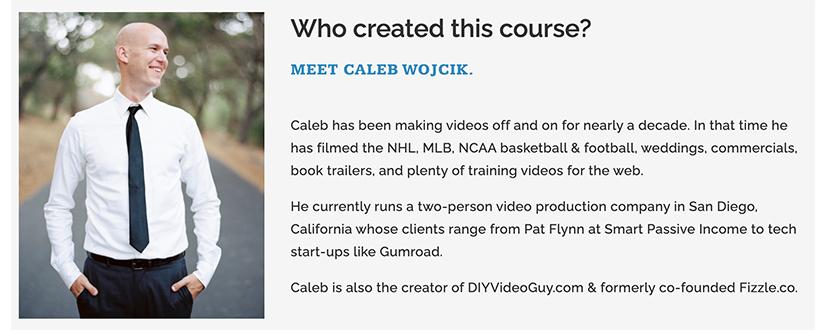 Caleb Wojcik - DIY Video Production Guide 2