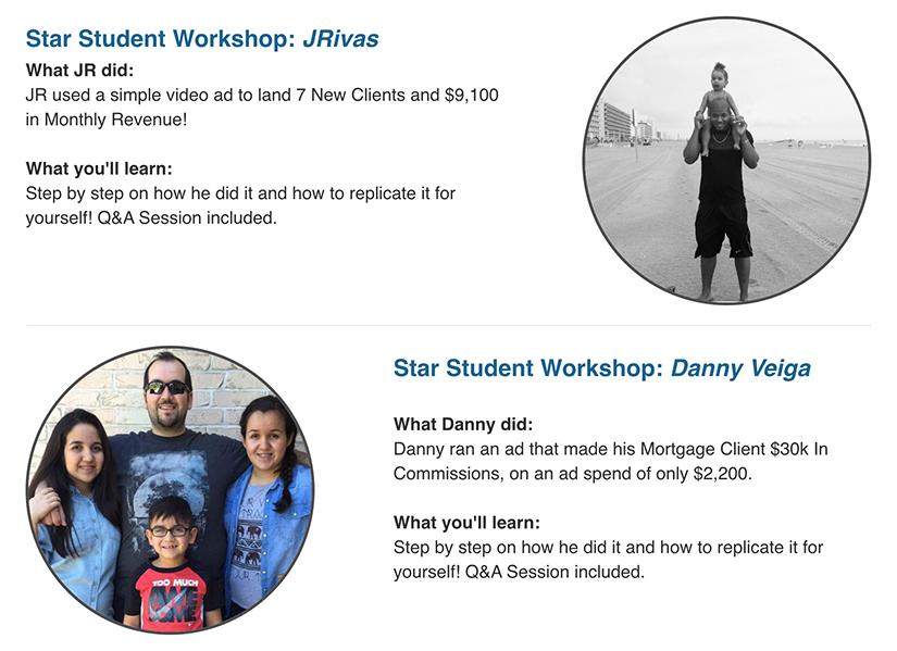 Dan Henry Students