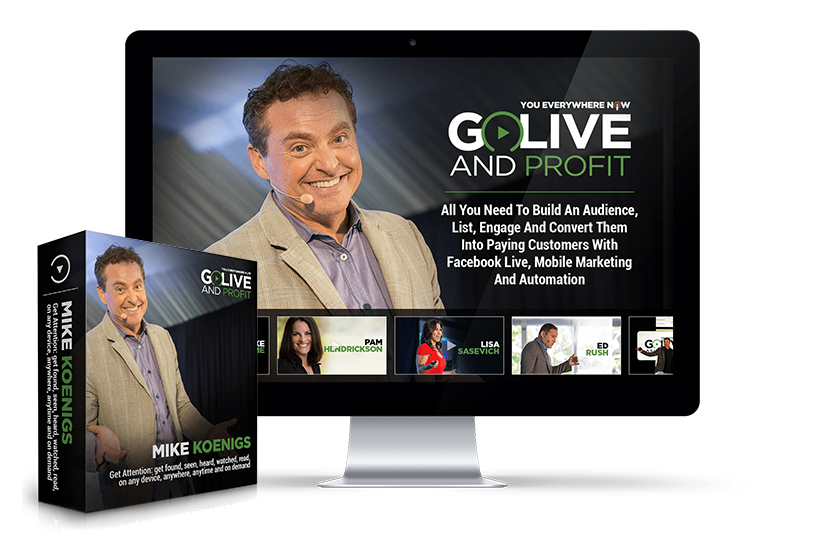 Go Live and Profit Download