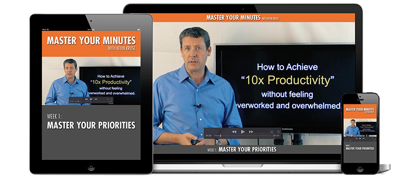 Kevin Kruse - Master Your Minutes