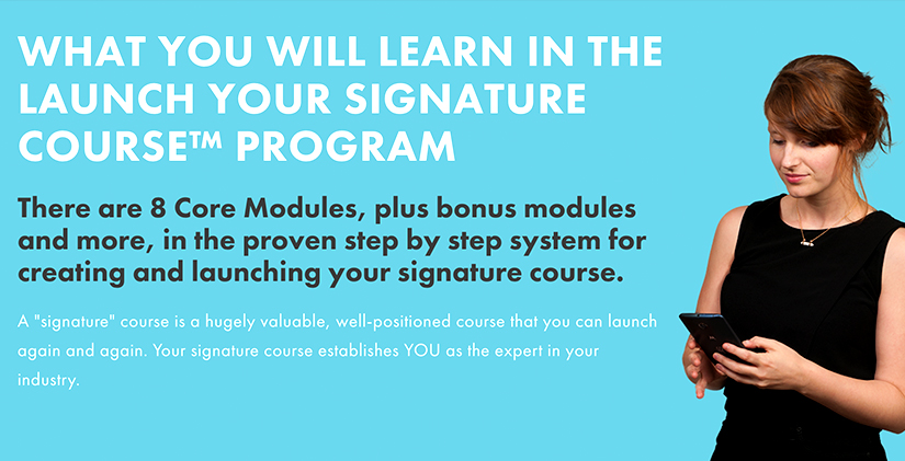 Mariah Coz - Launch Your Signature Course Free Download