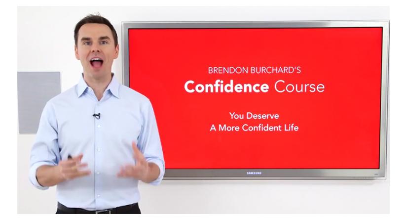 Brendon Burchard – The Confidence Course 2017