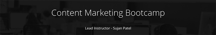 Content Marketing Bootcamp Free Download