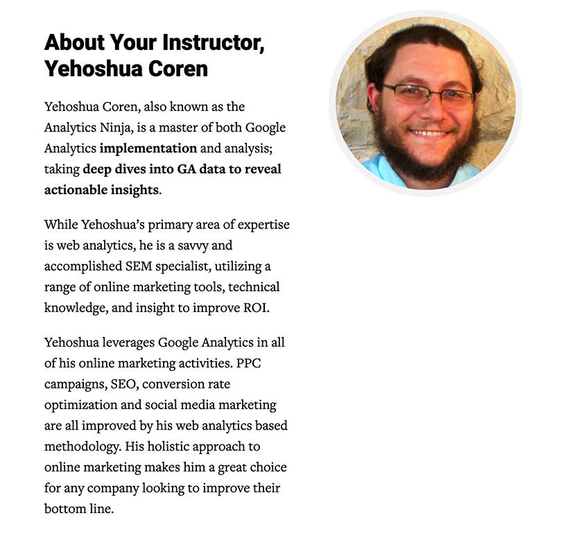 ConversionXL – Google Analytics Master Course