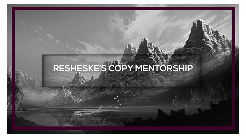 Copywriting Mentorship Program