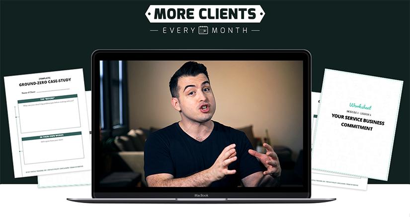Derek Halpern - More Clients Every Month