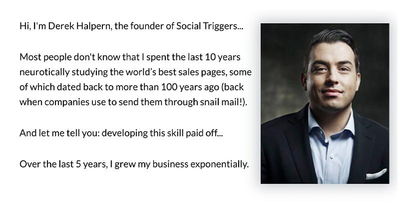 Derek Halpern - Sales Page That Converts