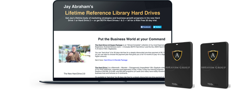 Jay Abraham - Lifetime Reference Library 2