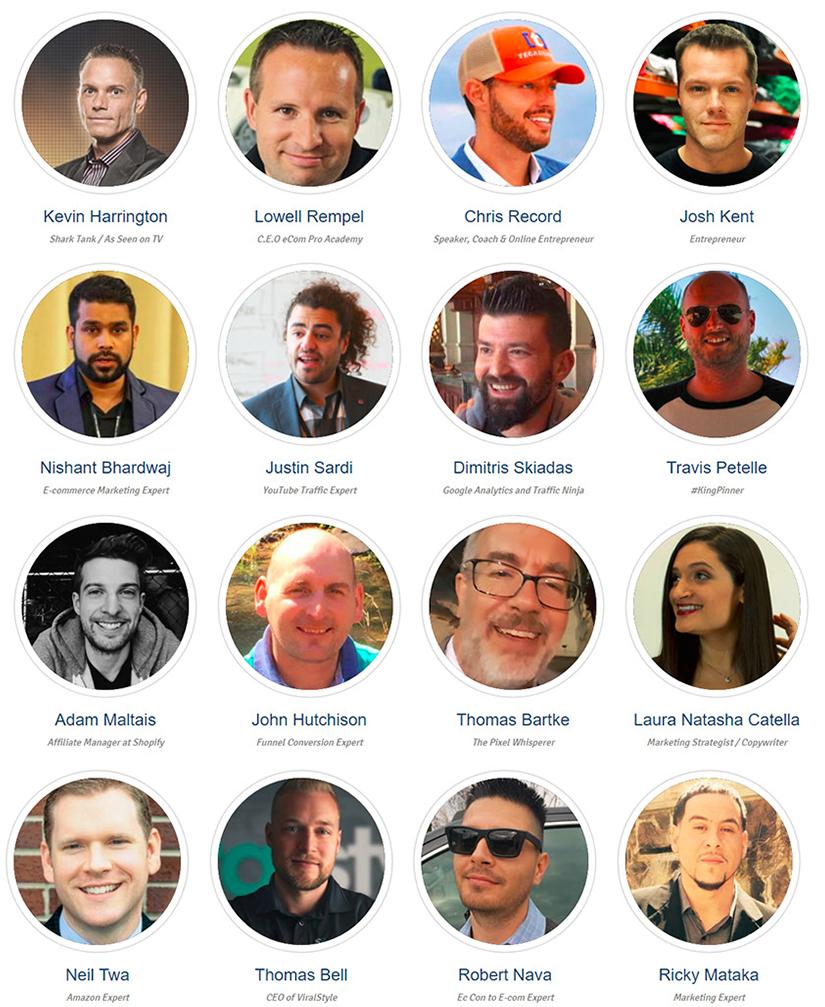 Kevin Harrington - E-com Pro Academy Shopify Summit