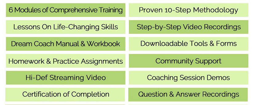 Marcia Wieder - Online Dream Coach Certification