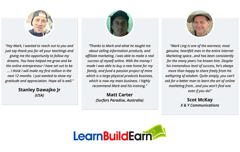 Mark Ling - Learn Build Earn