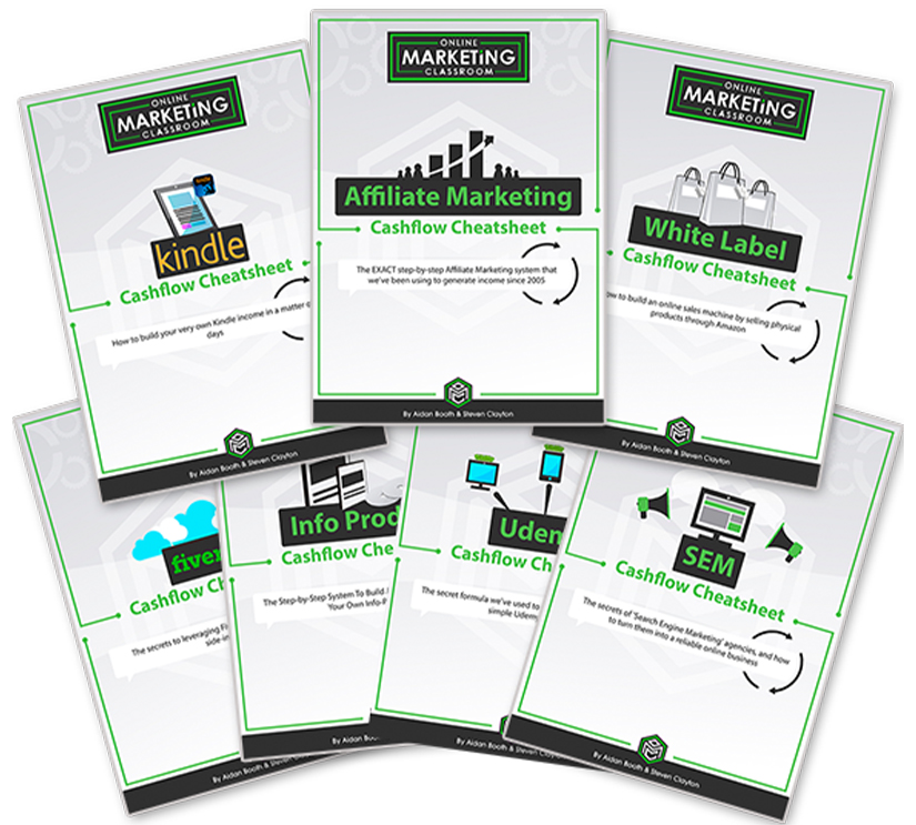 Online Marketing Classroom Cheatsheets