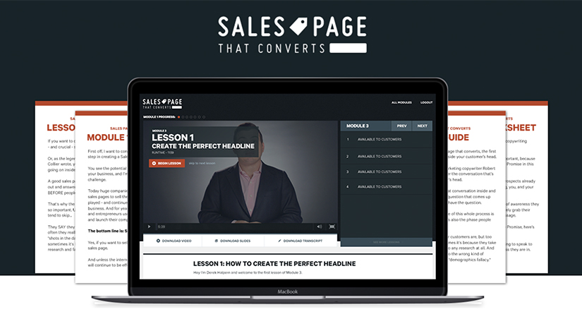 Sales Page That Converts Free Download