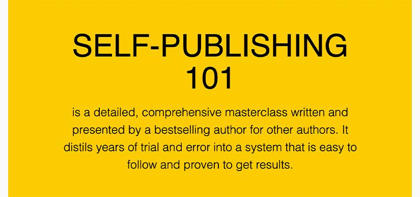 Self Publishing 101 Free Download