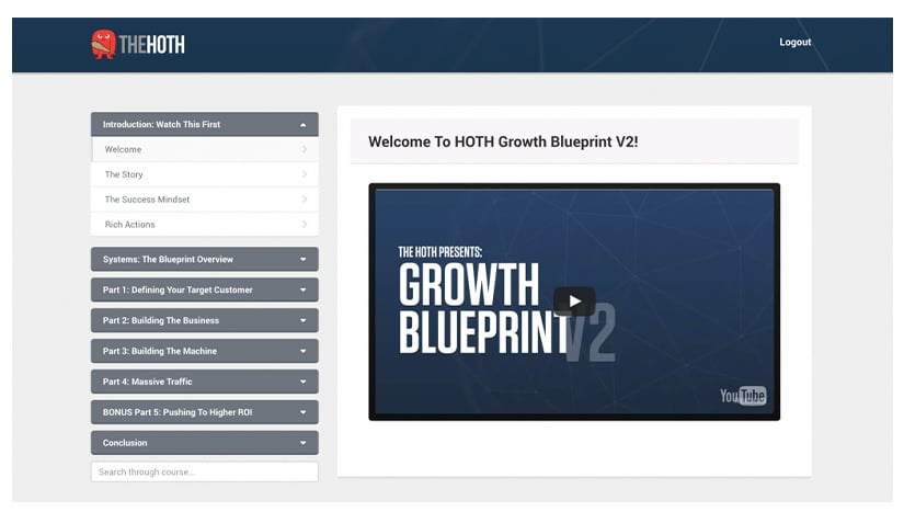 HOTH Growth Blueprint V2 Free Download
