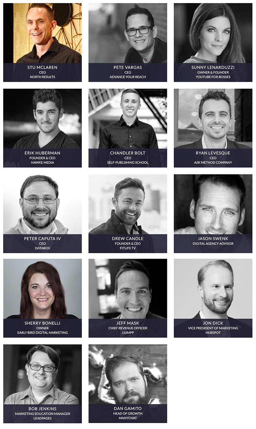 Traffic & Conversion Summit 2018 Speakers 2