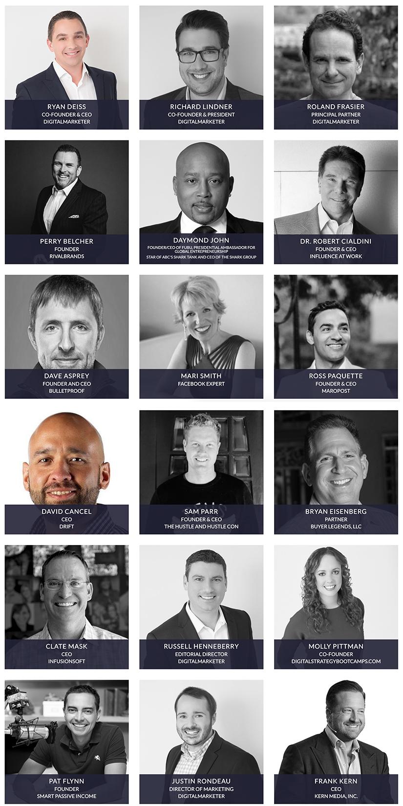 Traffic & Conversion Summit 2018 Speakers