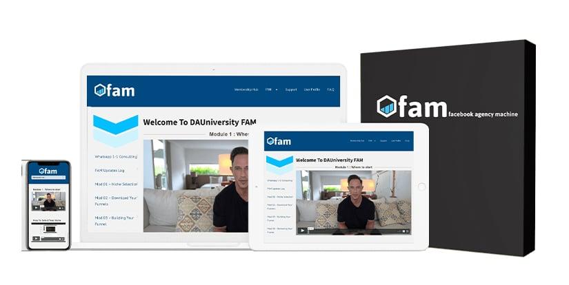F.A.M. Facebook Agency Machine Download