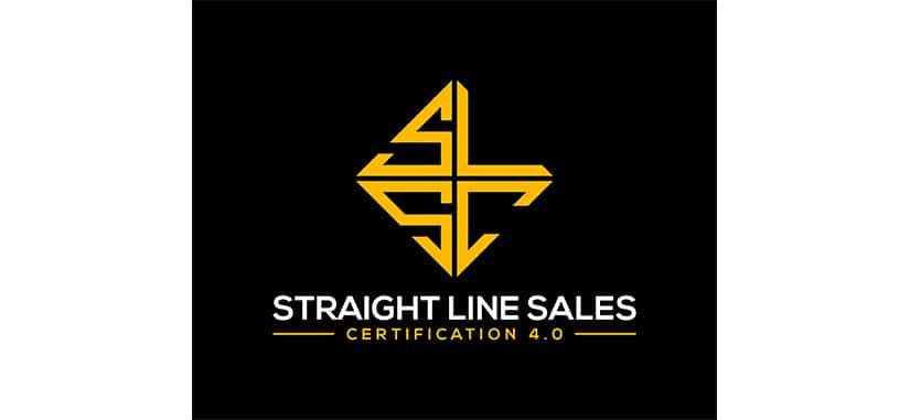 Straight Line Sales Cert 4 For FRee