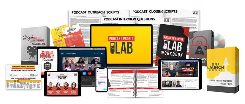 28 Day Podcast Profit LAB Free Download