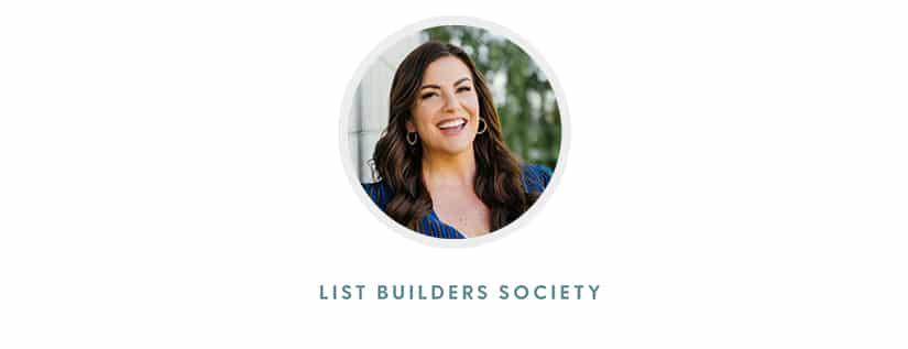 Amy Porterfield - List Builders Society