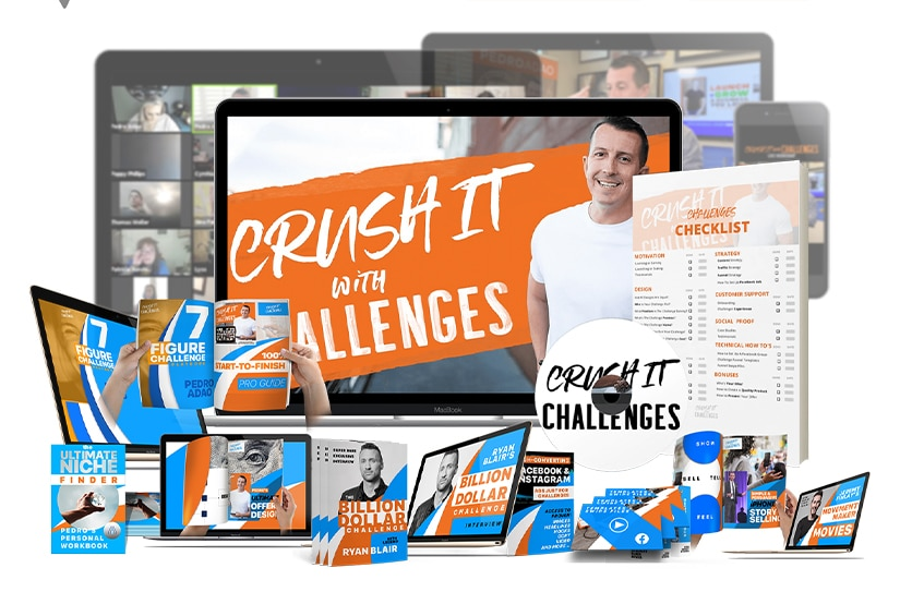 Crush It With Challenges Course