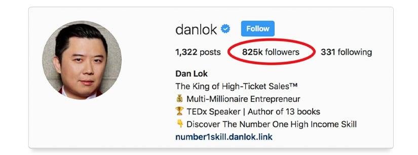 Dan Lok - Instagram Secrets