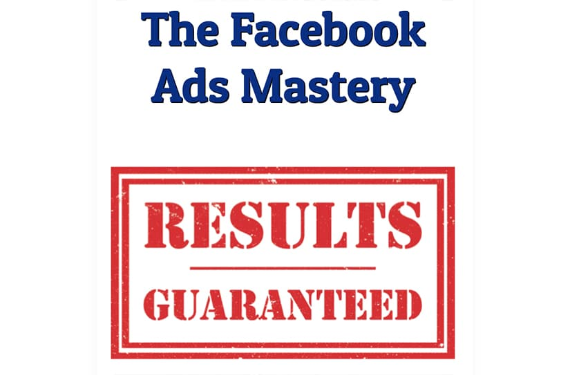 Facebook Ads Mastery Course Free Download