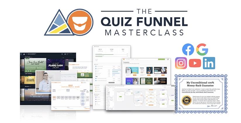 Get The Quiz Funnel Masterclass
