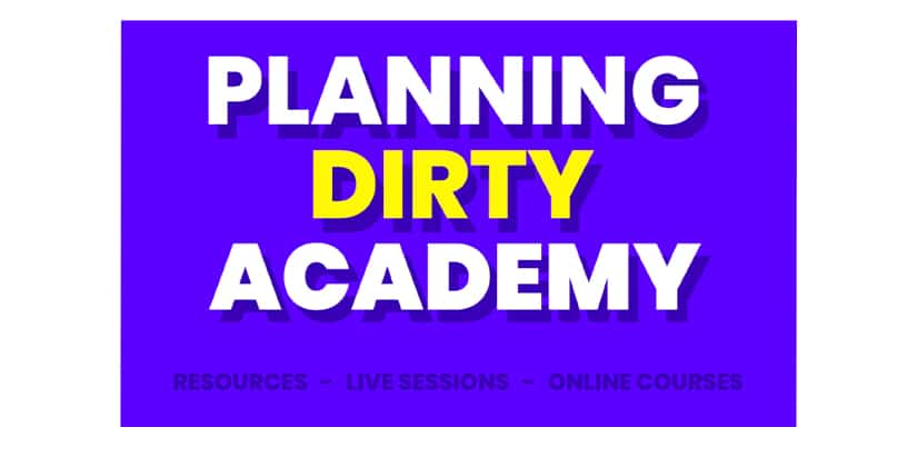 Planning Dirty Academy Download Course