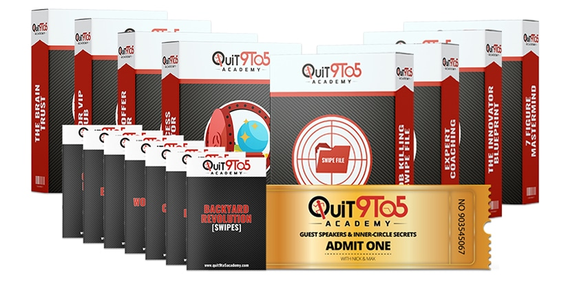 Quit 9 to 5 Academy Download