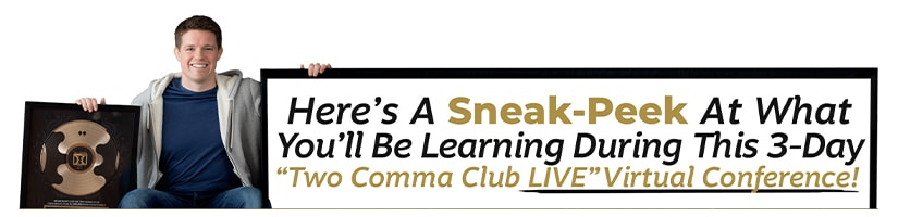 Russel Brunson - Two Comma Club Live