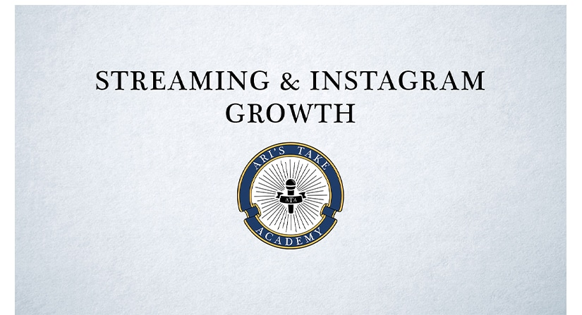 Streaming & Instagram Growth Course