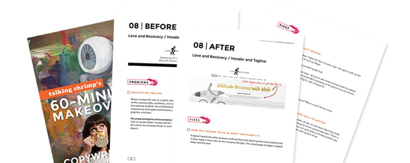 60-Minute Makeovers Copywriting Mini Course Download