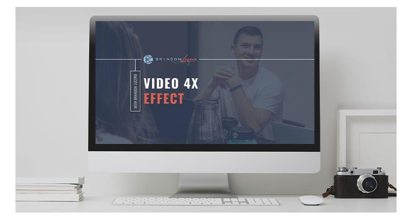 Brandon Lucero The Video 4x Effect
