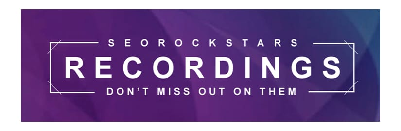 SEO Rockstars 2020 Recordings Download