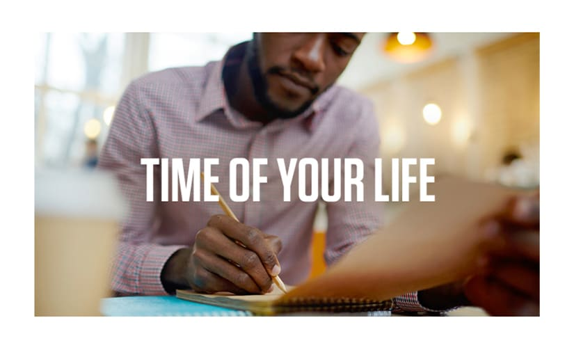 Time of Your Life Course