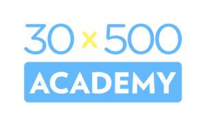 30×500 Academy