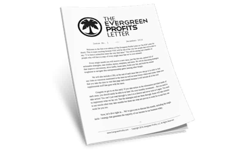 Evergreen Profits Membership Download