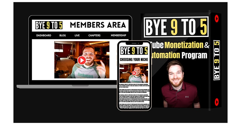 Jordan Mackey - Youtube Monetization and Automation Program