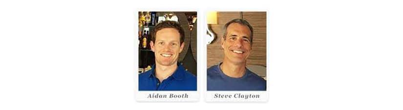 Steven Clayton & Aidan Booth