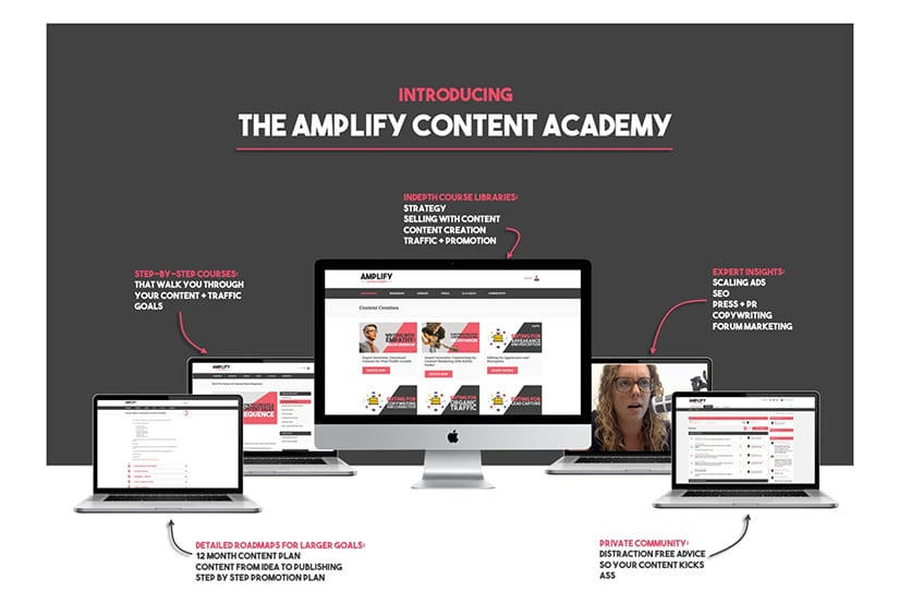 The Amplify Content Academy Download Free