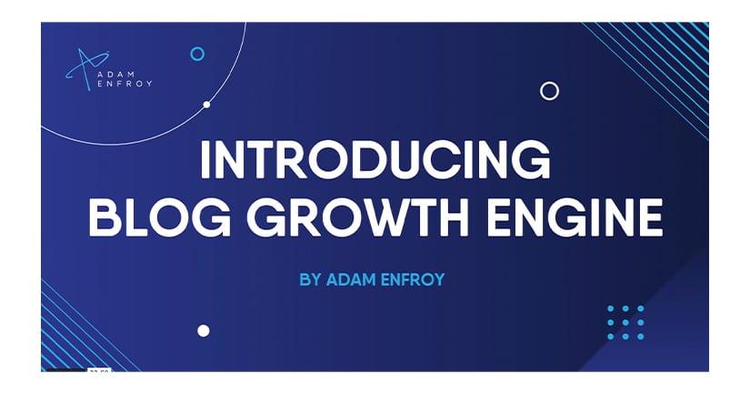 Blog Growth Engine Free Download