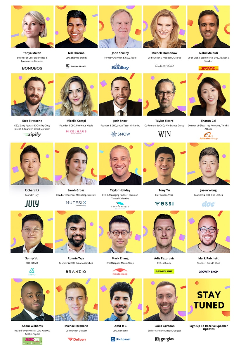 EcomWorld Conference 2021 Speakers