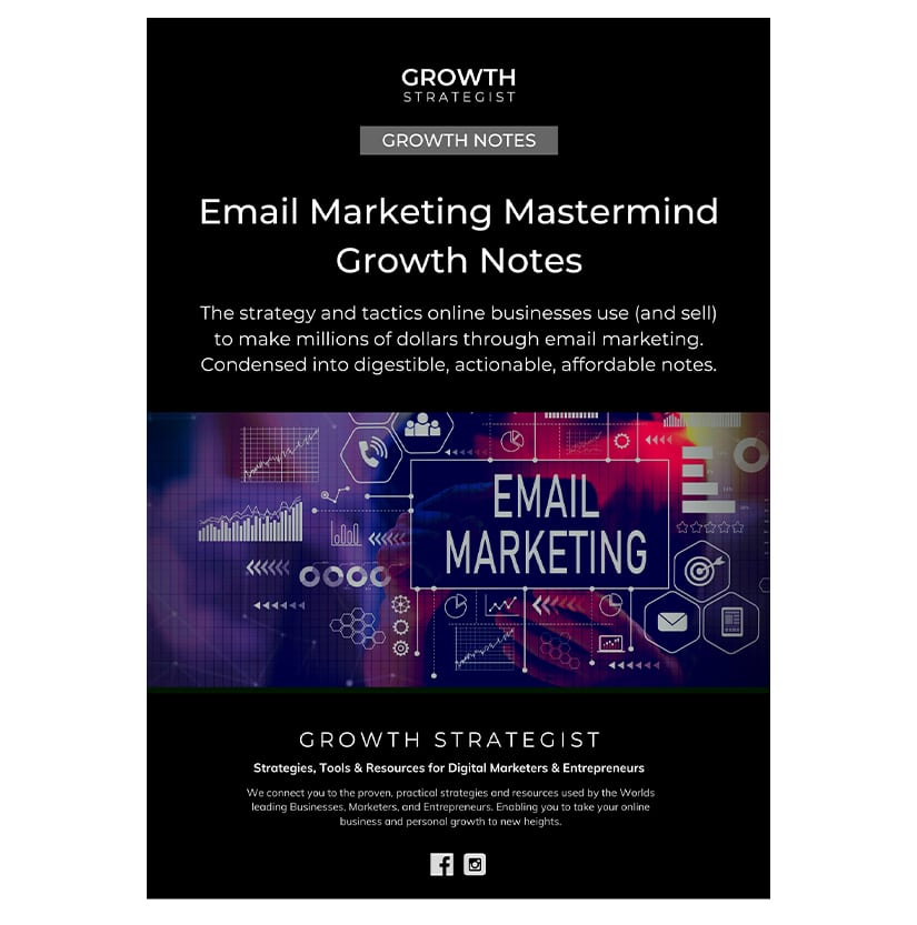 Growth Strategist Email Marketing