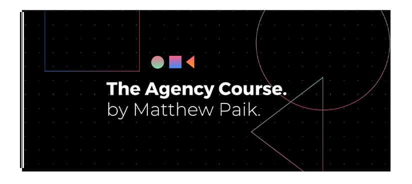 Matthew Paik The Agency Course