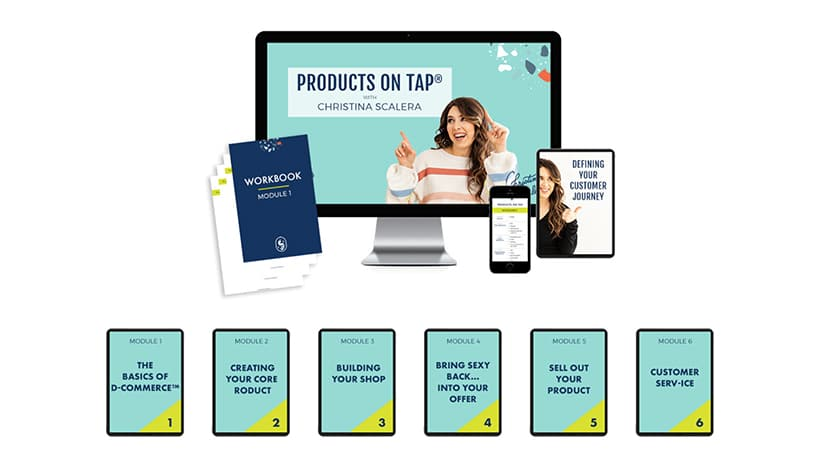 Christina Products on Tap 2.0